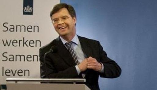 Balkenende lacht - Cc De Speld