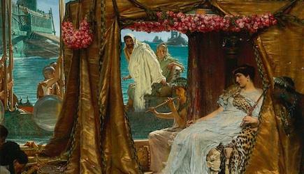 Cleopatra - L. Alma Tadema