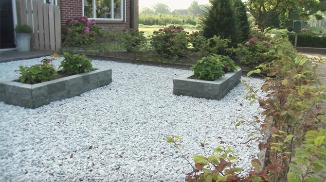 Uitgelezene Stel wil graag een huis met een tuin om vol grind te kunnen storten SI-57